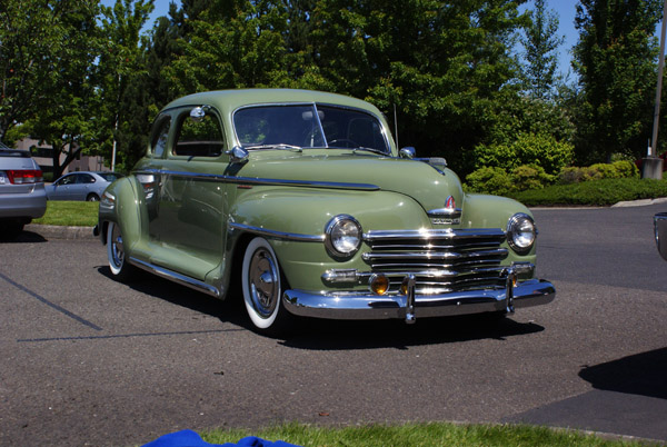 1948 plymouth special deluxe parts